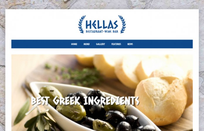 Hellas - Restaurant WordPress Theme